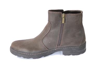 Ботинки нубуковые BI borwn