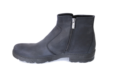 Ботинки нубуковые BI gray
