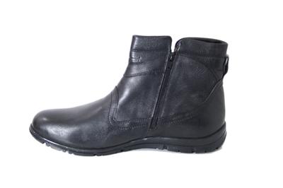 Ботинки кожаные Faststep black