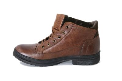 Ботинки кожаные Greyder