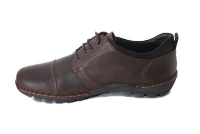 Ботинки кожаные Saes