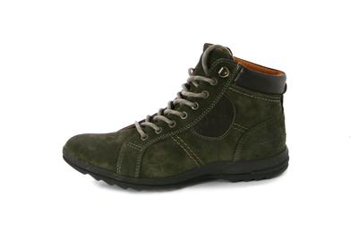 Ботинки замшевые Innovation green