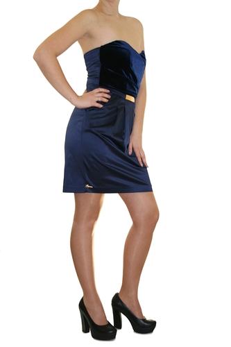 Платье Joymiss синее