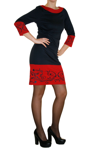 Трикотажное платье LaFoli