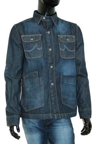 Джинсовый пиджак классический