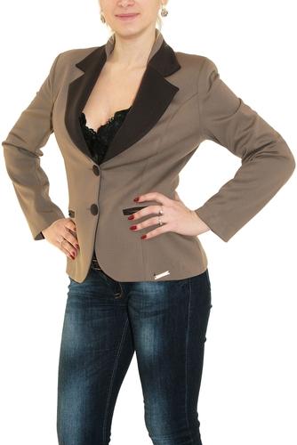 Пиджак женский For See светло-коричневый