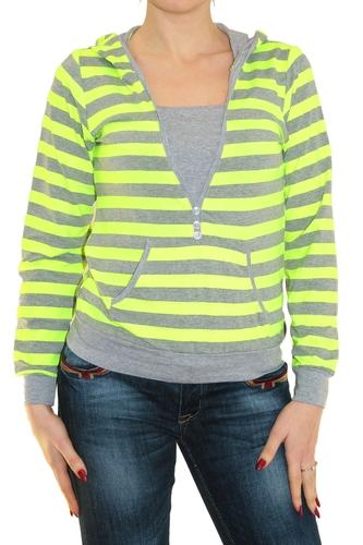 Кофта Zagra fashion зелено-серая
